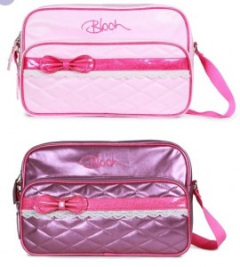 Bloch bow and lace bag