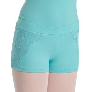 Bloch Crinole Scallop mesh short